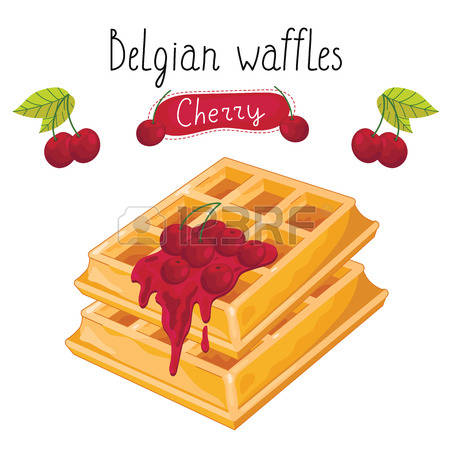 2,151 Waffles Syrup Stock Vector Illustration And Royalty Free.