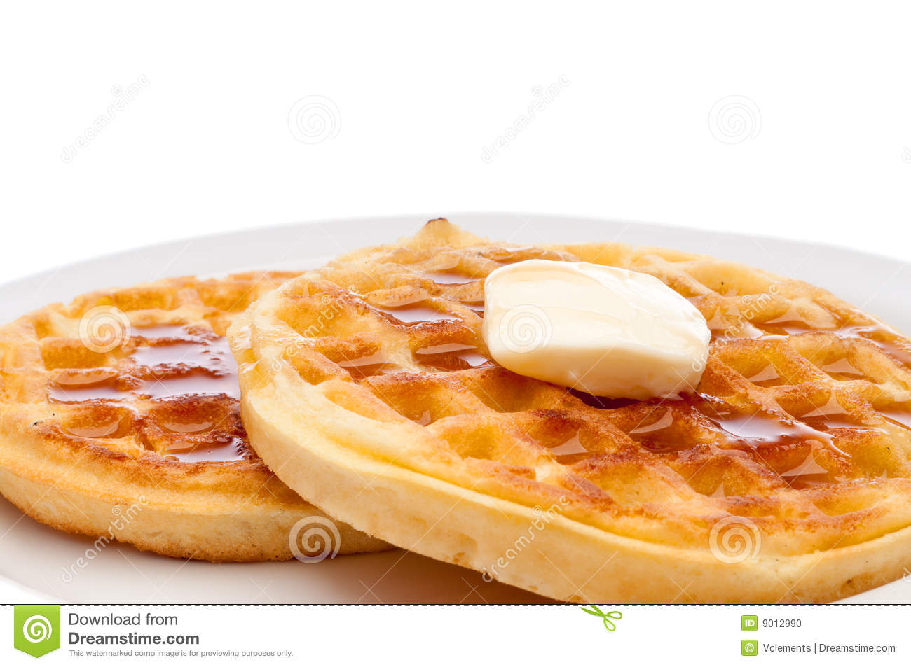 Waffles Syrup Butter Stock Photos, Images, & Pictures.