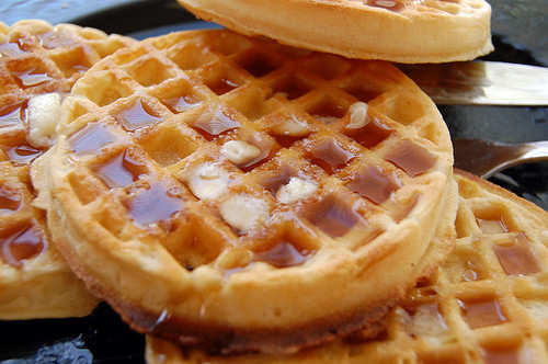 Waffle Stack Clipart.
