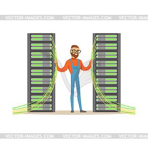 System administrator, server admin, programmer.