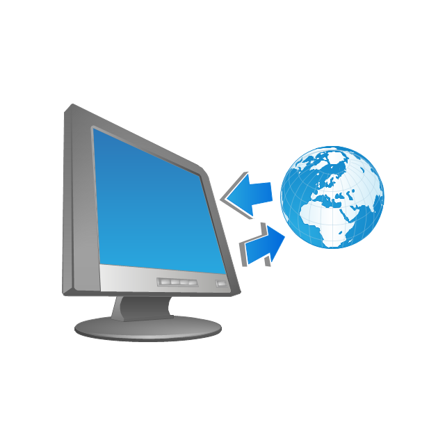 Information systems clipart.