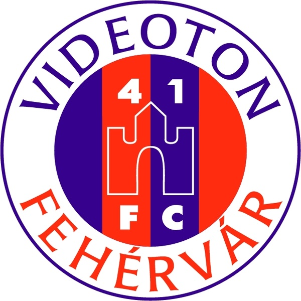 Fc videoton szekesfehervar Free vector in Encapsulated PostScript.