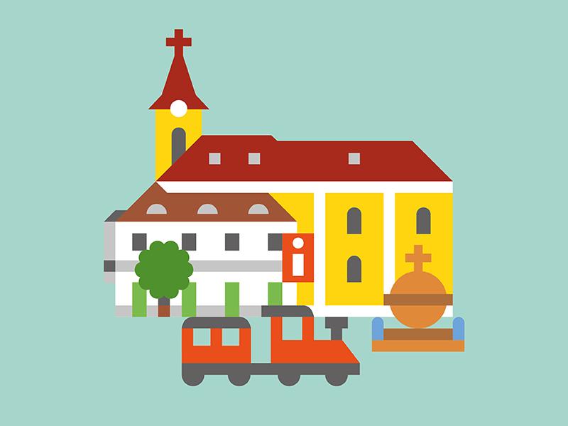 Székesfehérvár City Guide by Halisten Studio.