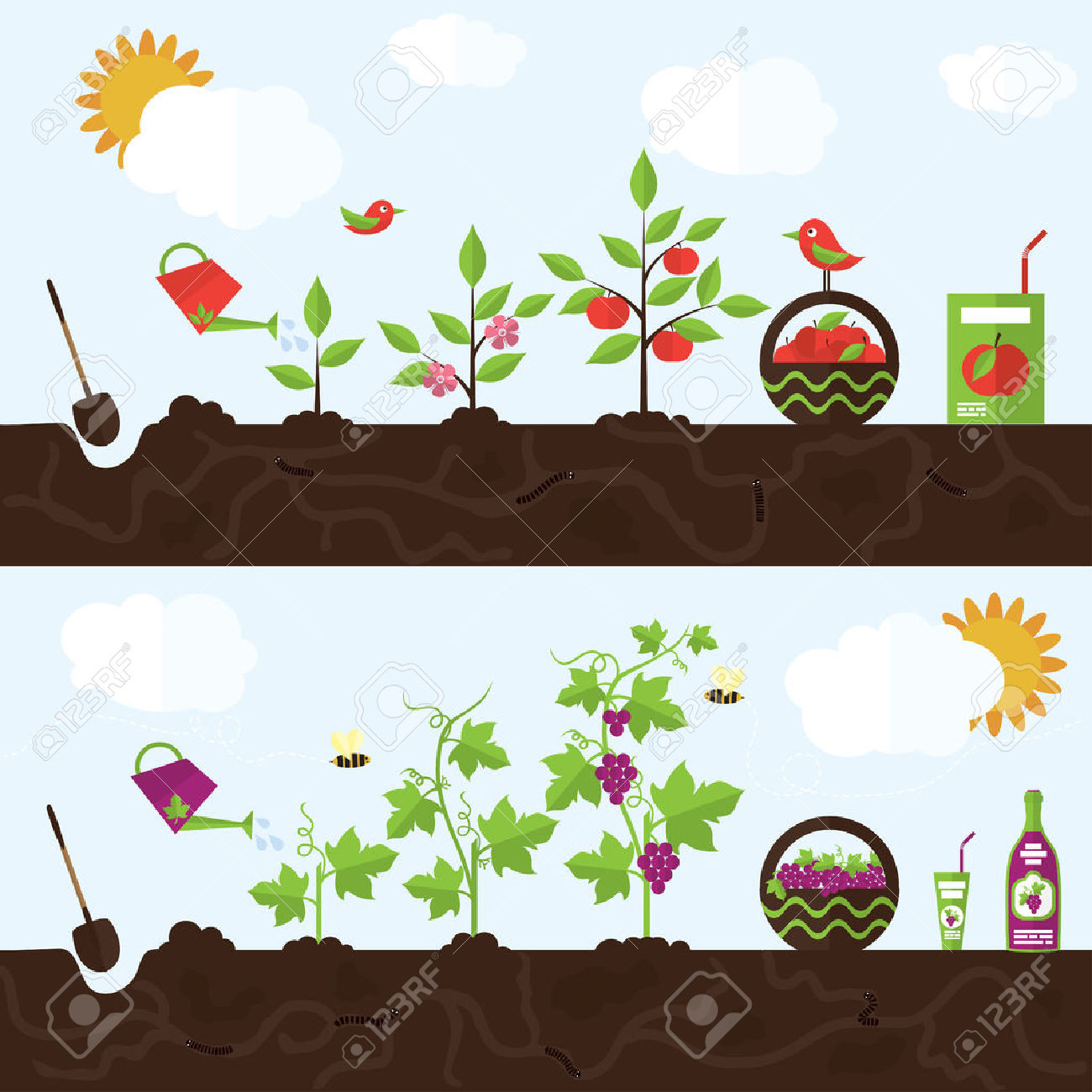 6,572 Planting Cliparts, Stock Vector And Royalty Free Planting.