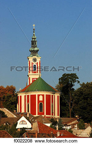 Pictures of Hungary, szentendre, church f0022208.