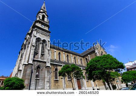 National Basilica Koekelberg Huge Art Deco Stock Photo 13589806.