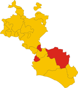 Mazzarino (Szicília).