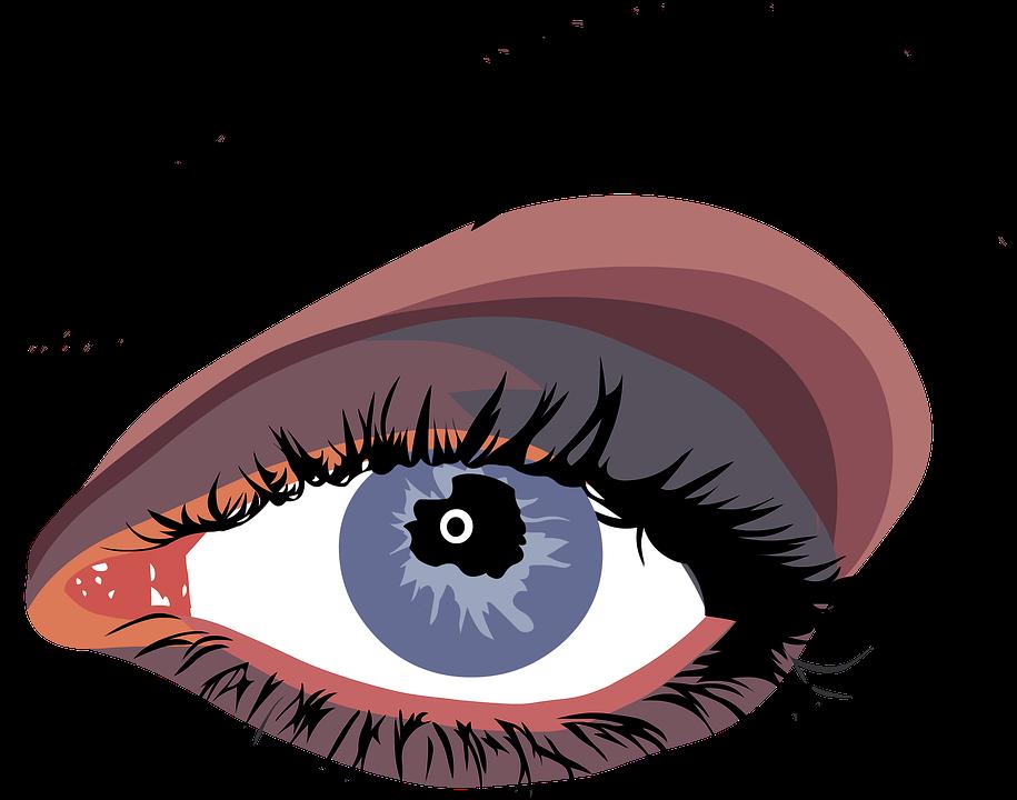 Eyelashes.