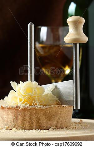 Stock Photographs of Swiss Cheese.