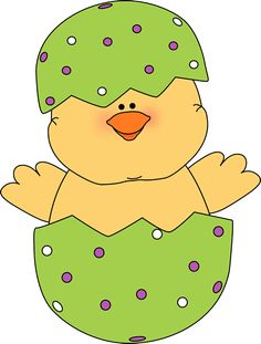 Easter Chicken Clipart.