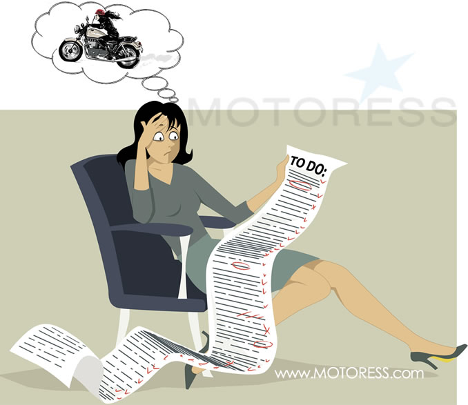 "No Time to Ride? Tips to Making More Motorcycling ""Me Time."