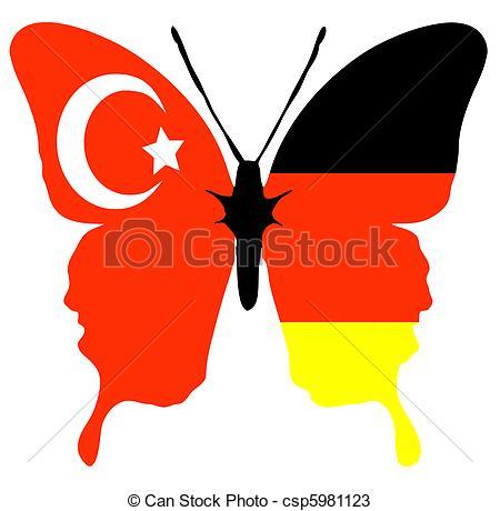 Zeichnungen von Türkei, deutschland.