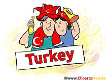 Türkei Fussball Bilder, Cliparts, Cartoons, Grafiken.