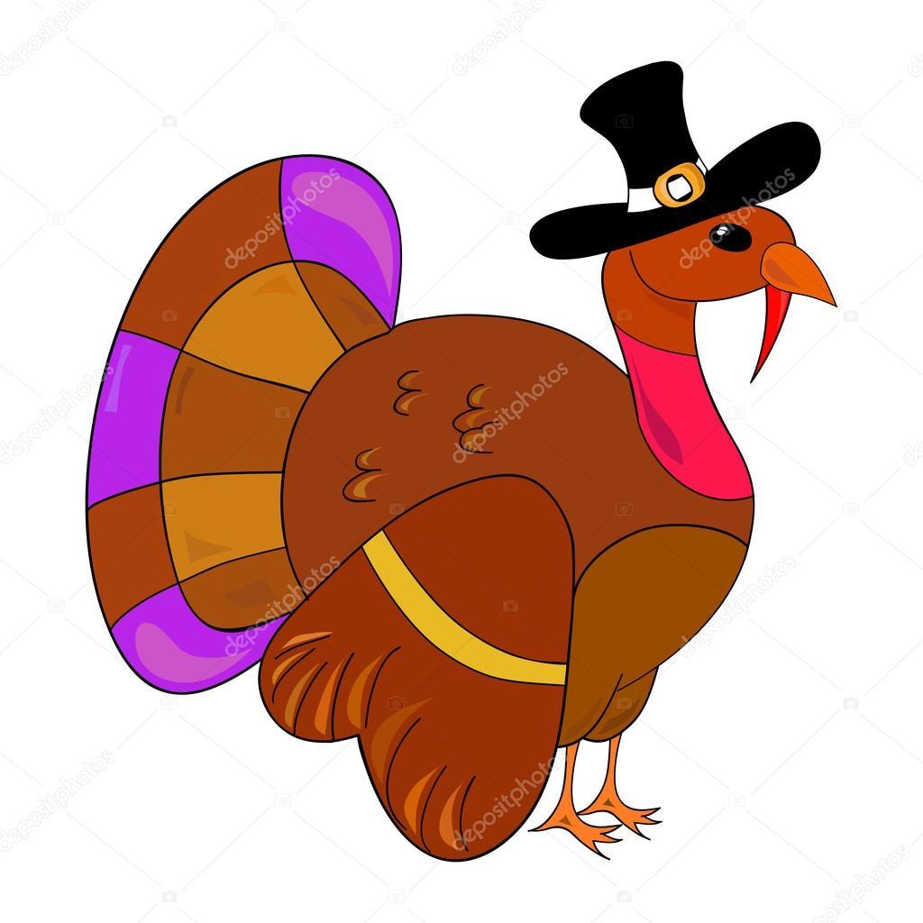 Türkei Clipart für Erntedankfest — Stockvektor © Kannaa #28673185.