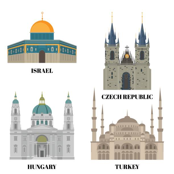 Tyn Church Clip Art, Vector Images & Illustrations.
