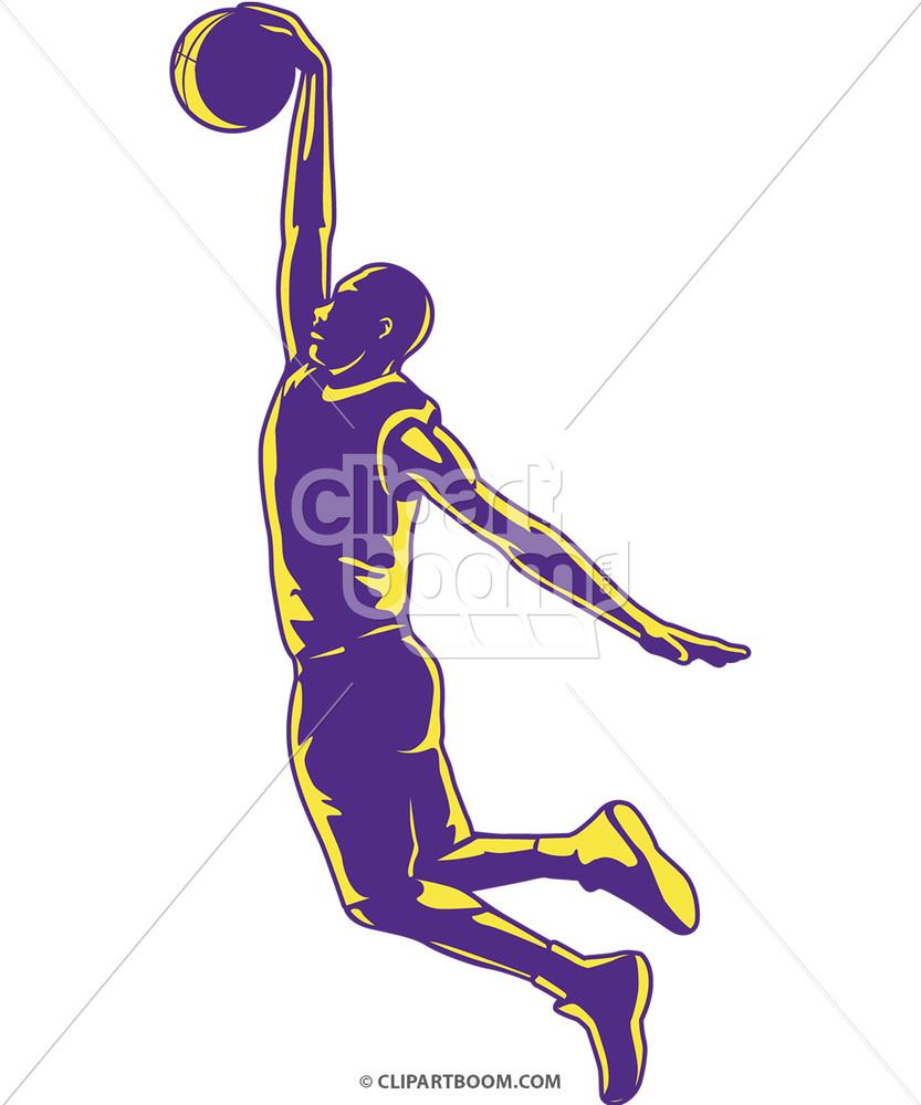 Vector Basketball Clip Art for T.