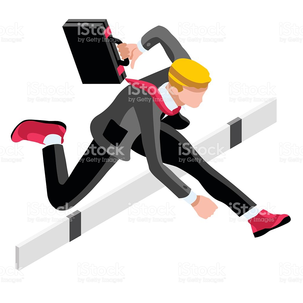 Ambitious Business Change 45 Career Ambitions Vector Concept stock.