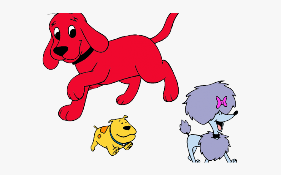 Clifford The Big Red Dog T Bone Cleo , Free Transparent.