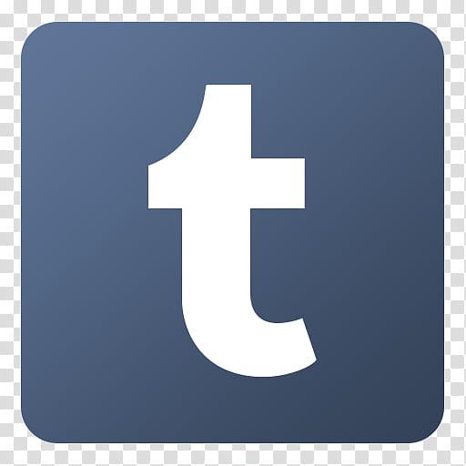 Flat Gradient Social Media Icons, , t logo transparent.