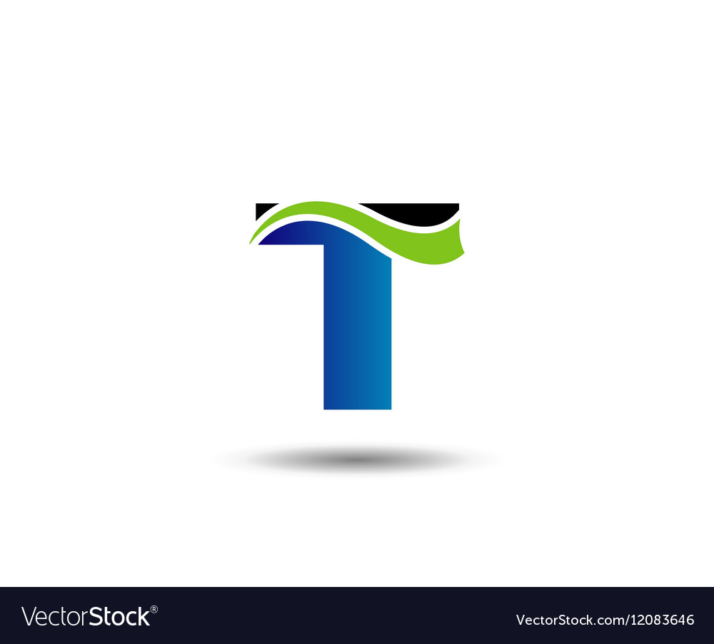 Letter T logo Icons Graphic Design.