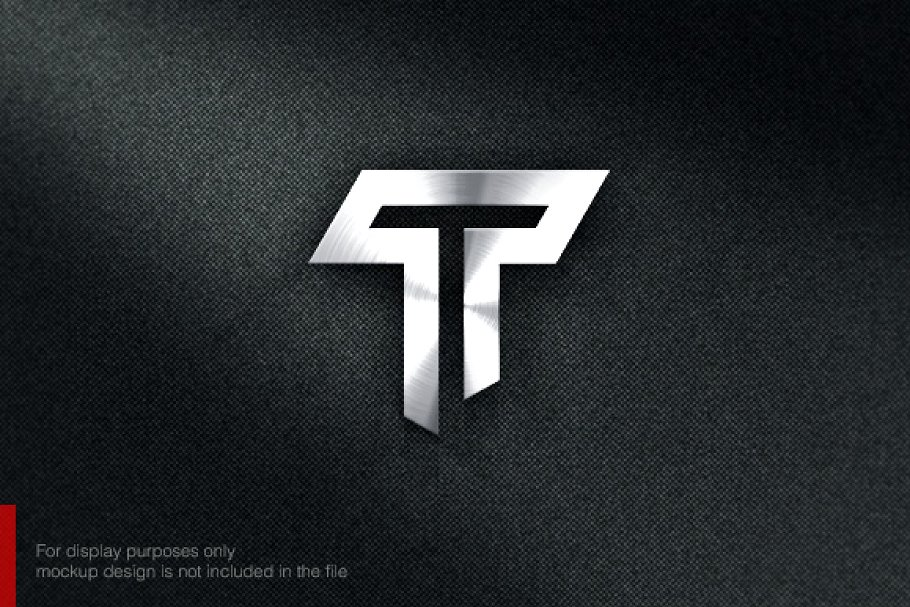 Abstract Letter T Logo.