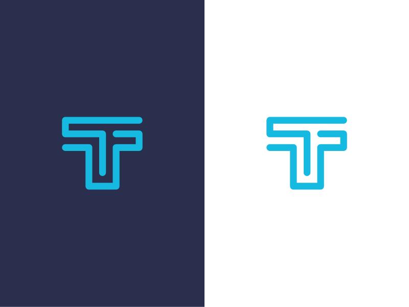 T / logo design.