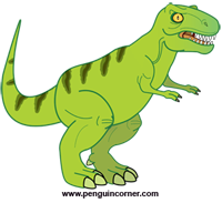 Tyrannosaurus rex clipart #13