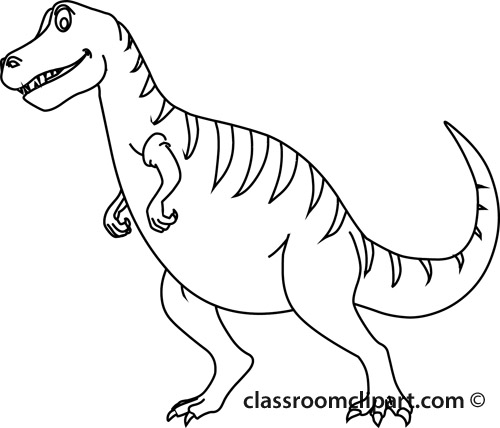 T Rex PNG Black And White Transparent T Rex Black And White.