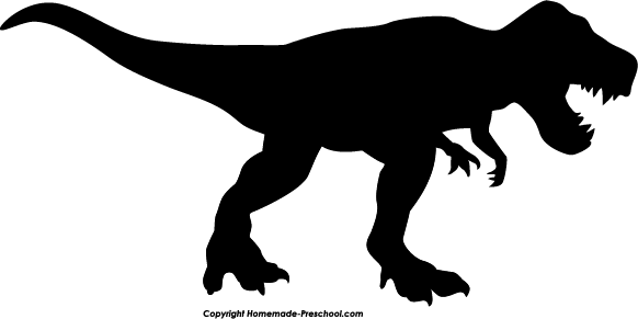 Home Free Clipart Silhouette Clipart Silhouette T Rex.