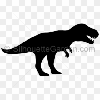 Free T Rex Silhouette Png Transparent Images.