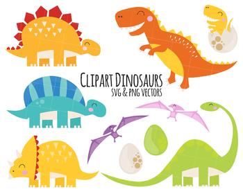 Dinosaur Clipart, t.