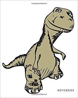 Notebook: Dinosaur Notebook For Kids, Boys, Girls.