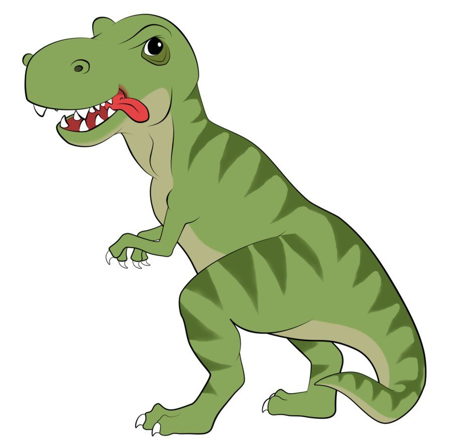 t rex dinosaur cartoon.