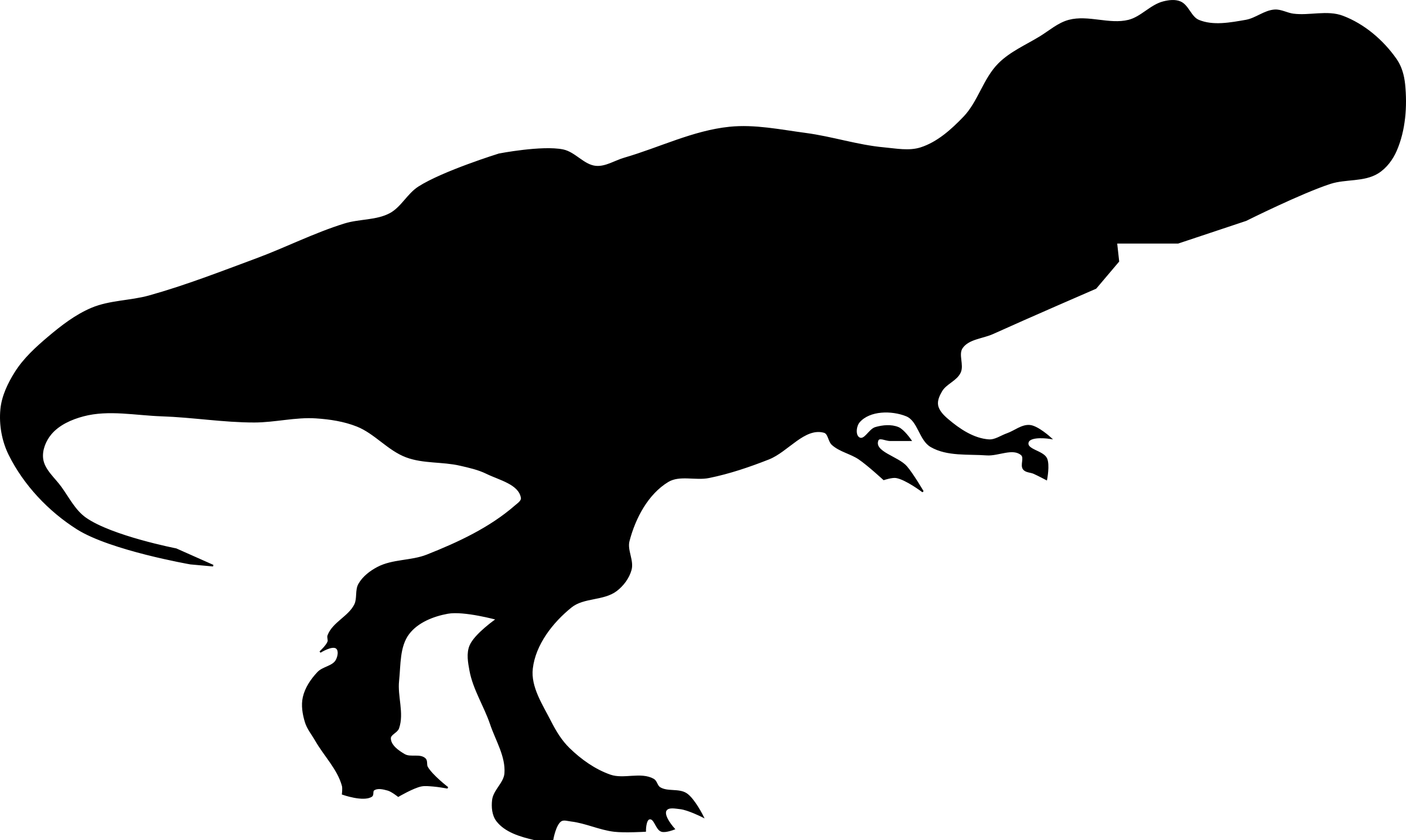 Free T Rex Silhouette Clip Art, Download Free Clip Art, Free.