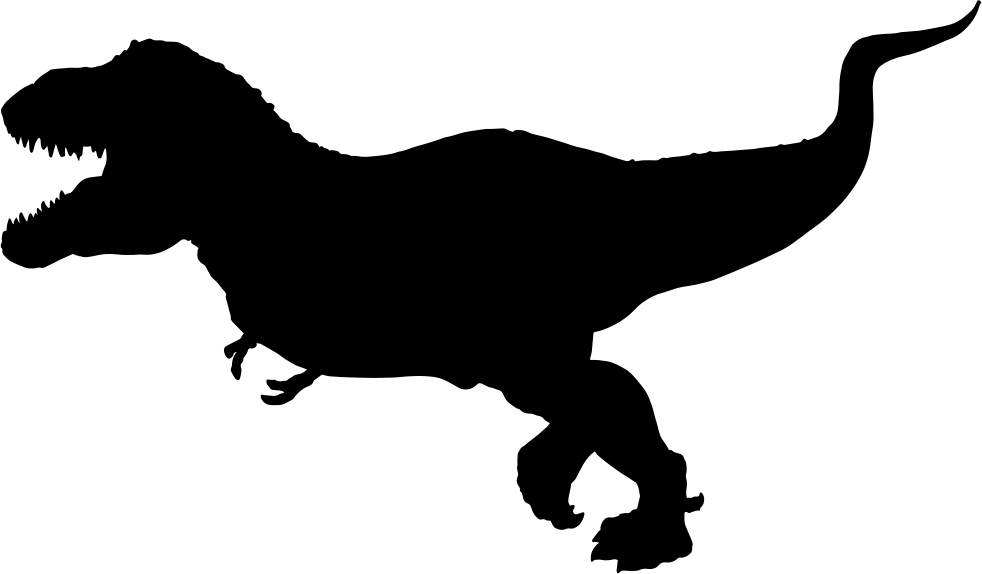 Tyrannosaurus Rex Silhouette Svg Png Icon Free Download.