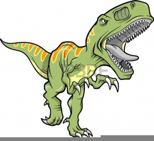 T Rex Dinosaur Clipart.