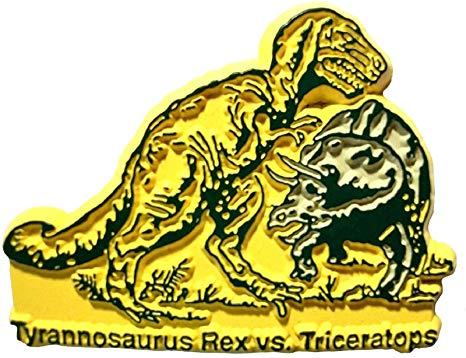 Amazon.com: Tyrannosaurus Rex vs. Triceratops: Kitchen & Dining.