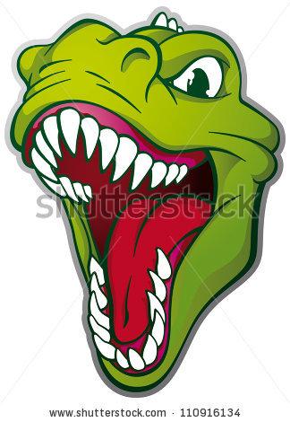 Dinosaur Head Stock Images, Royalty.