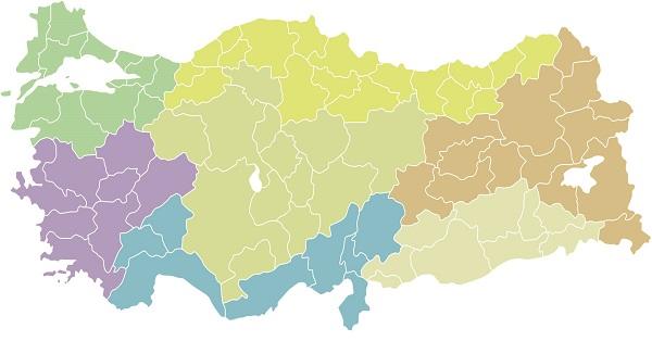Türkiye haritasi. ⛔ Türkiye Haritaları. 2019.