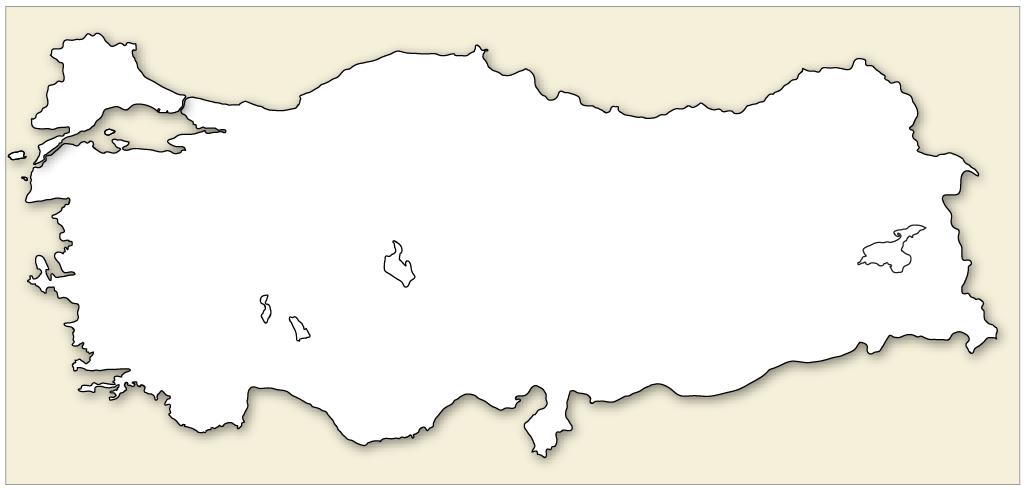 Türkiye haritası png 4 » PNG Image.