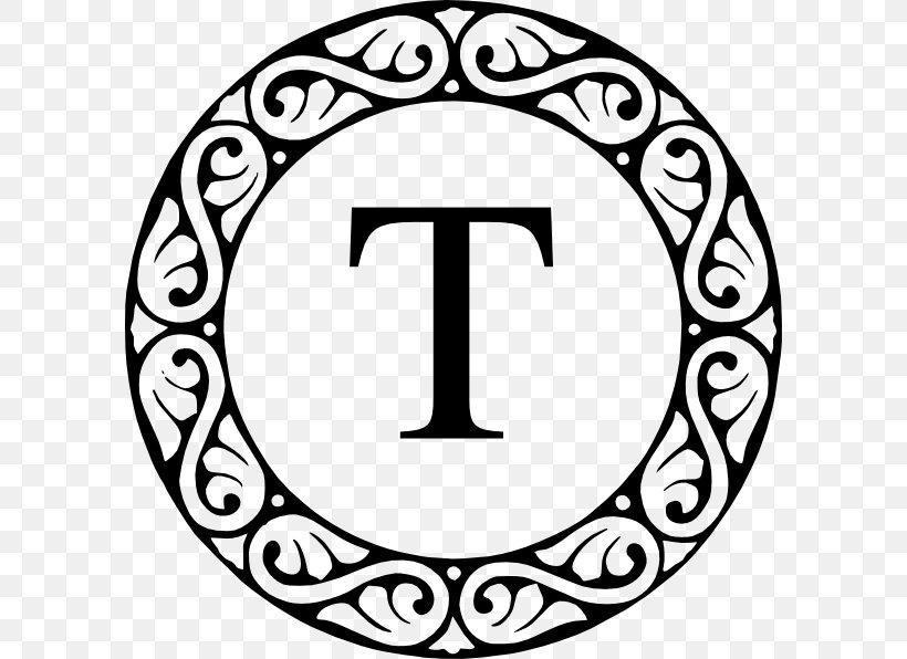 Letter Monogram Initial Clip Art, PNG, 594x596px, Letter.