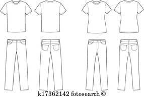 T shirt and jeans clipart 7 » Clipart Portal.