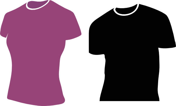 Female Tshirts Clip Art at Clker.com.