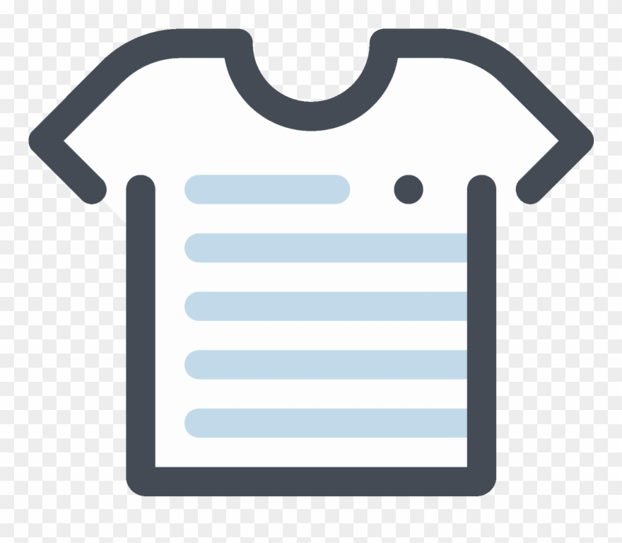 Graphic Royalty Free Library T Shirt Icon Free.