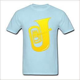 Amazon.com: CHILL Big Sale Men\'s Tuba Clip Art Design T.