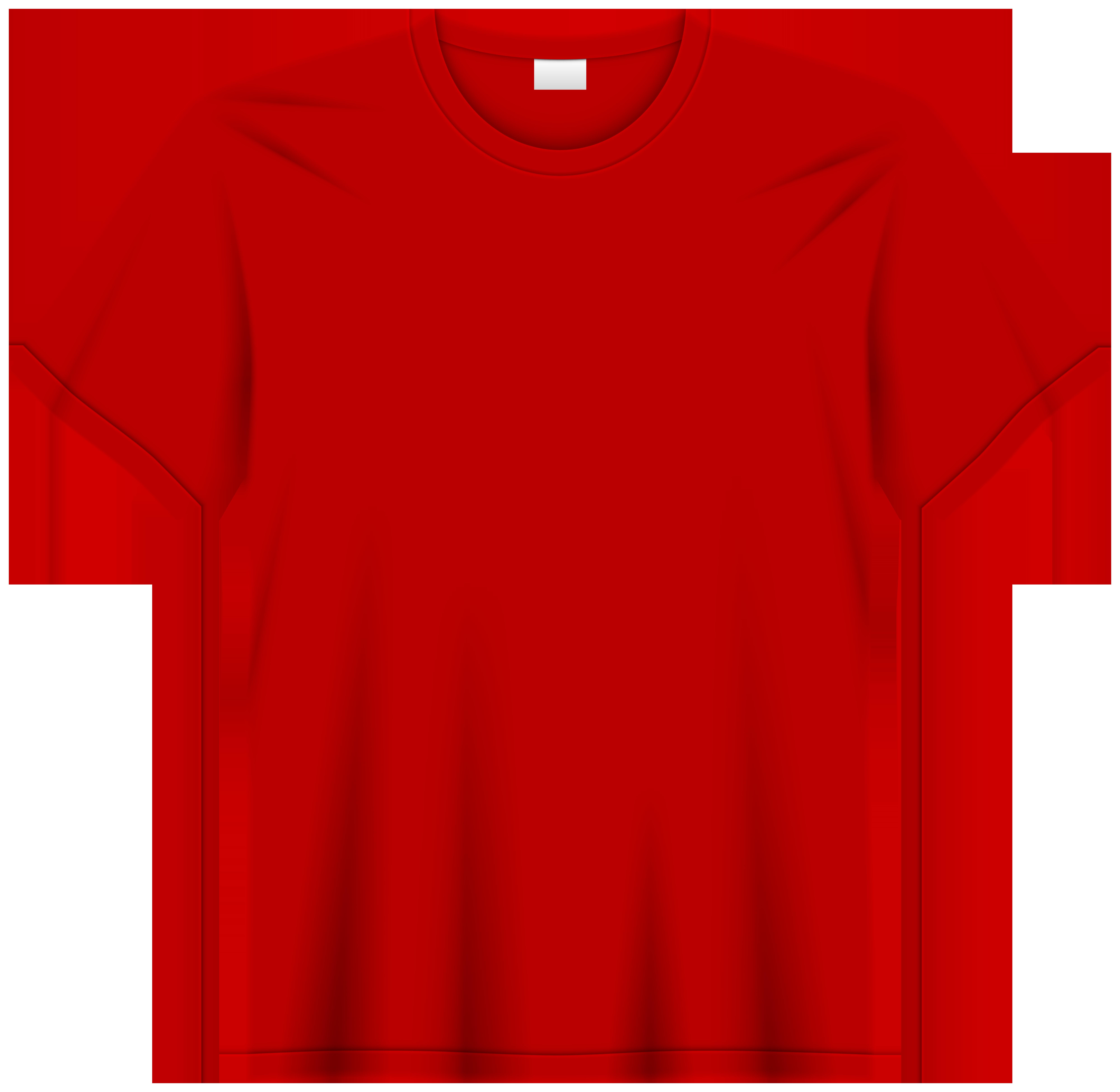 Red T Shirt PNG Clip Art.