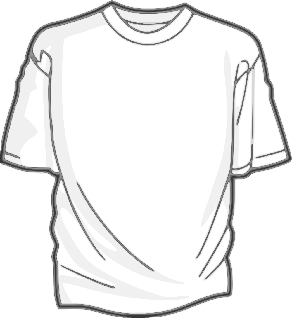 Tshirt Fully transparent PNG.