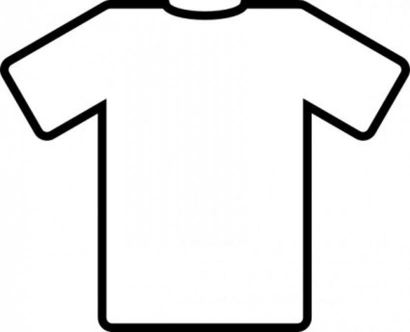 Shirt Template Clipart.