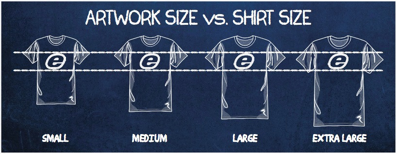 How to Determine The Right Size For A Logo On Custom T.