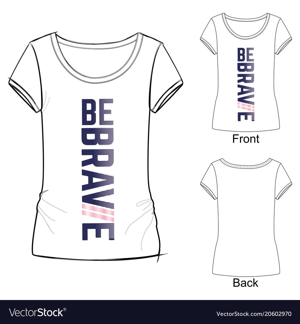 T shirt design idea for sport wear.
